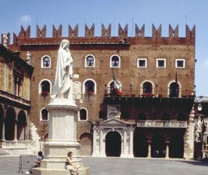 Cangrande I della Scala - Palazzo Cangrande in Verona