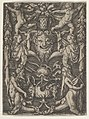 Panel with Grotesque Candelabrum Containing Satyrs, Children and a Trophy MET DP836777.jpg