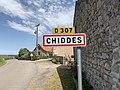 Panneau entrée Chiddes Saône Loire 1.jpg