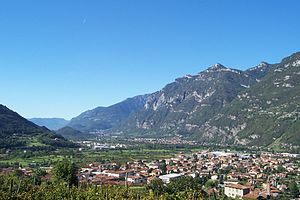Panorama di Piancogno