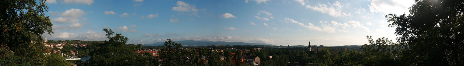 Panorama from Castle Hill Cieszyn Wikivoyage pagebanner.jpg