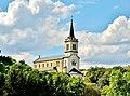 Panorama sur l'église de Bermont depuis la coulée verte.jpg