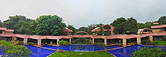 Institute for Plasma Research - Image: Panoramic View of IPR main building