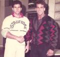 Paolo Tassetto con Bob Paris a Padova (Italia),1986.png