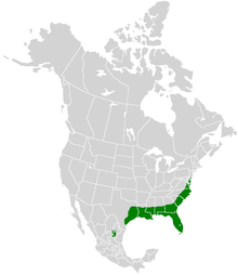 Papilio palamedes range map.PNG