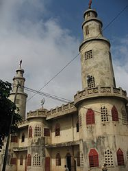 Mosque in Parakou, Benin