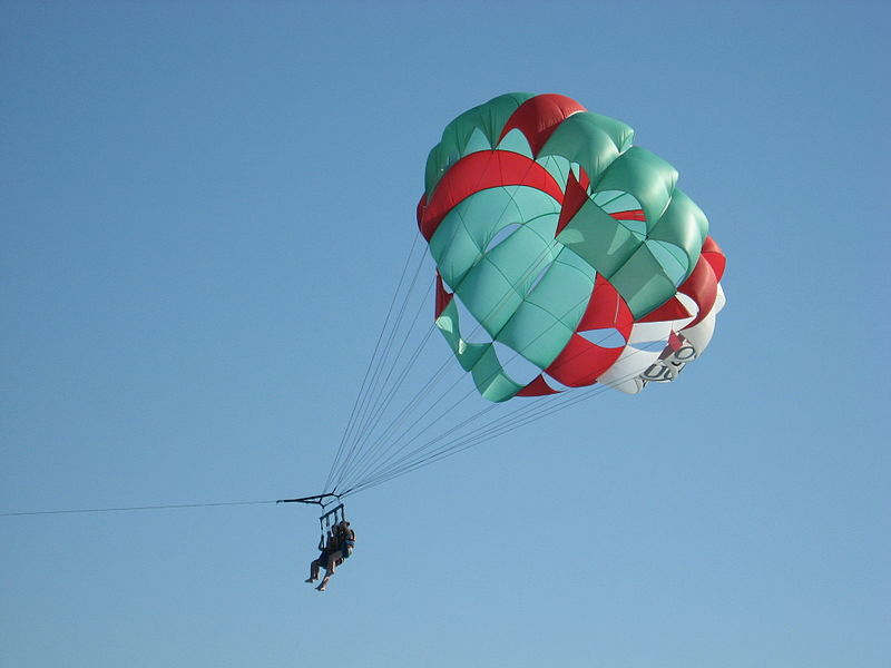 Parasailing At Majorda Beach