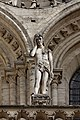 Paris - Cathédrale Notre-Dame - Façade ouest - Statue - PA00086250 - 002.jpg