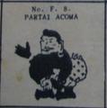 Partai acoma election symbol on 1955 ballot paper.png