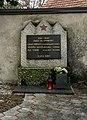 Partizan memorial at At. Margaret's Church in Dol pri Ljubljani, Slovenia.jpg