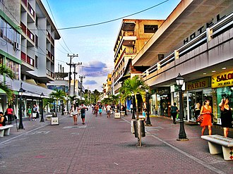 San Andrés, San Andrés y Providencia - Image: Paseo Peatonal