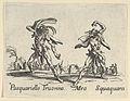 Pasquariello Truonno - Meo Squaquara, from the Balli di Sfessania MET DP846864.jpg