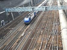 Железнодорожный транспорт Википедия Железнодорожные пути в Париже Франция