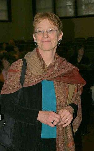 Patricia Aufderheide - Aufderheide at the Berkman Center 2006 Beyond Broadcast gathering