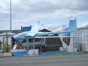 الطائرات بدون طيار فى سلاح الجو المصرى - صفحة 2 300px-Patroller%26Sperwer