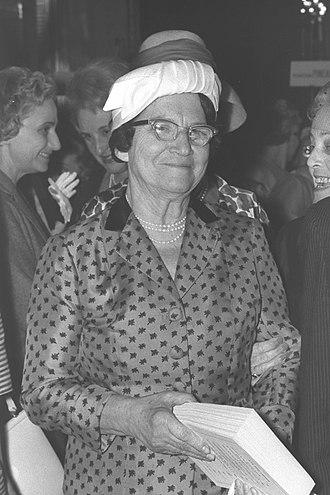 Paula Ben-Gurion - Paula Ben-Gurion, 1955