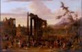 Peeter van Bredael - Market Scene Set amidst a Capriccio of Ruins.tiff