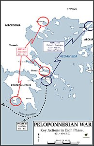 Pelopennesian War, Key Actions in each Phase, 431 - 404 B.C..JPG