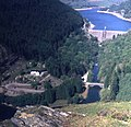 Pen-y-garreg dam and Penbont House - geograph.org.uk - 481651.jpg
