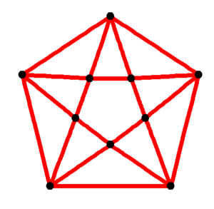Antiprism - Image: Pentagonal antiprismatic graph