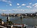 Pest between Margaret Bridge and Chain Bridge from Buda Castle, 2013 Budapest (189) (13229073074).jpg