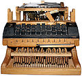 Peter Mitterhofer Schreibmaschine 1864 Replikat Cut out.jpg
