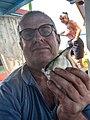 Peter van der Sluijs selfie angelfish caught with a rod Gambia.jpg