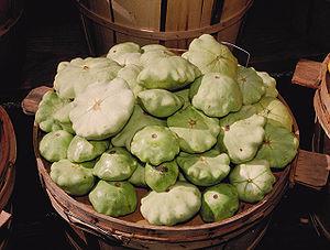 Pattypan squash - Pattypan or white squash