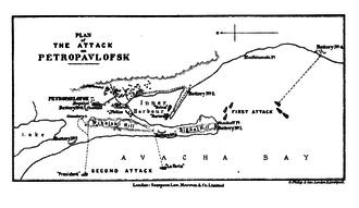 Siege of Petropavlovsk - Image: Petropavlovsk 1854