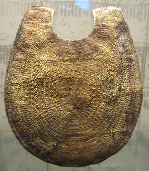 Regolini-Galassi tomb - Gold pectoral from the Regolini-Galassi tomb, ca. 650 BC