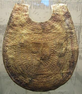 Regolini-Galassi tomb - Gold pectoral from the Regolini-Galassi tomb, ca. 650 BC