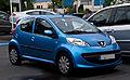 Peugeot 107 – Frontansicht, 24. Juni 2012, Ratingen.jpg