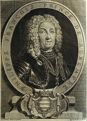 Merode family - Philippe-François de Mérode, 2nd Prince of Rubempré