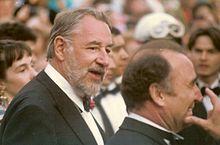 Philippe Noiret e Claude Brasseur al Festival di Cannes del 1989