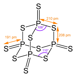 Phosphorus pentasulfide Chemical compound