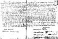"Photo of the Tawagonshi Document (forged text of Two Row Wampum Treaty) included in Otto–Jacobs, 2013, ""Introduction"", p. 8.png"