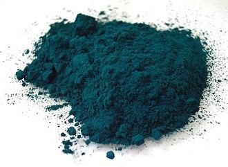 Phthalocyanine Green G - Phthalocyanine green pigment