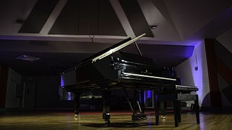 Windmill Lane Studios - Steinway Grand Piano in Studio One at the current location
