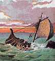 Pictures of English History Plate XVIII - Wreck of the 'White Ship'.jpg