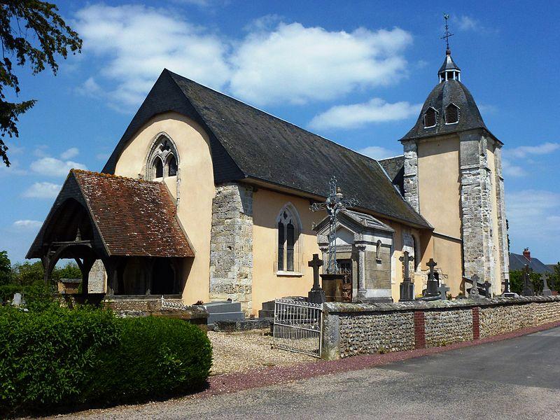 Piencourt (Eure) église Saint-Saturnin
