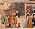 Piero della francesca, cappella bacci, 1452-69 circa, ritrovamento e verifgica della croce 03.jpg