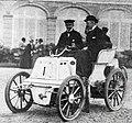 Pierre de Crawhez, vainqueur de Bruxelles-Ardenne-Spa en 1898 sur Panhard.jpg