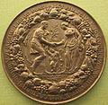 Pieter van abeele, medaglia matrimoniale (ehemedaille), 1660 ca.JPG