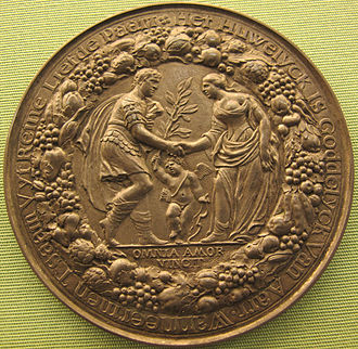 Pieter van Abeele - 1660 medal