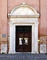 Pietro Lombardo, portale di san giobbe con i ss. giobbe e francesco, 1490-1500 ca. 01.jpg