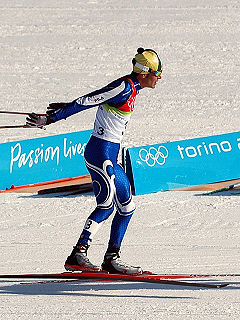 Pietro Piller Cottrer Italian cross-country skier