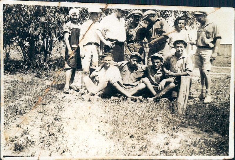 קבוצת תושבי קיבוץ רודגס