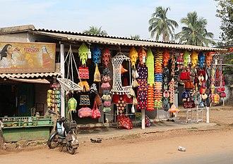 Pipili - Handicraft shop in Pipili