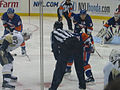 Pittsburgh vs Islanders 2009 faceoff.jpg