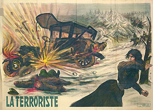 Description de l'image Plakat_La_Terroriste.jpg.